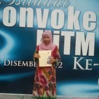 Hanya Dari 5A SPM, Kini Pelajar Cemerlang Dengan Anugerah Dekan 3 Semester Berturut-turut - Ujar Khairunnisa Binti Ahmad Zakuan.