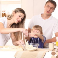 Parents and Kids communicate properly