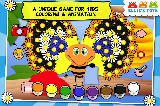 Coloring Games are ideal to keep kids occupied and prevent boredom